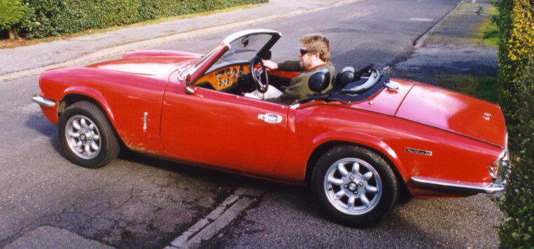Lesley's Mk IV Triumph